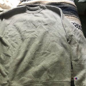 Comfy grey champion sweater